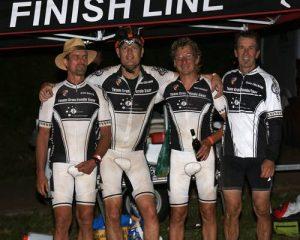 von rechts: Peter, Chris, Claus und Hans