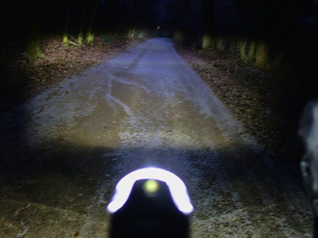 Gute Beleuchtung am Rad
